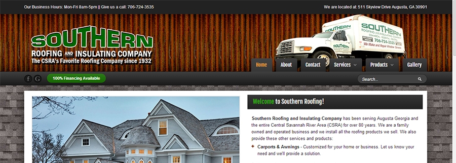 Southern Roofing Augusta